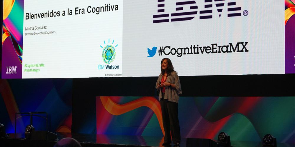 Martha González, directora de Soluciones Cognitivas de IBM México.