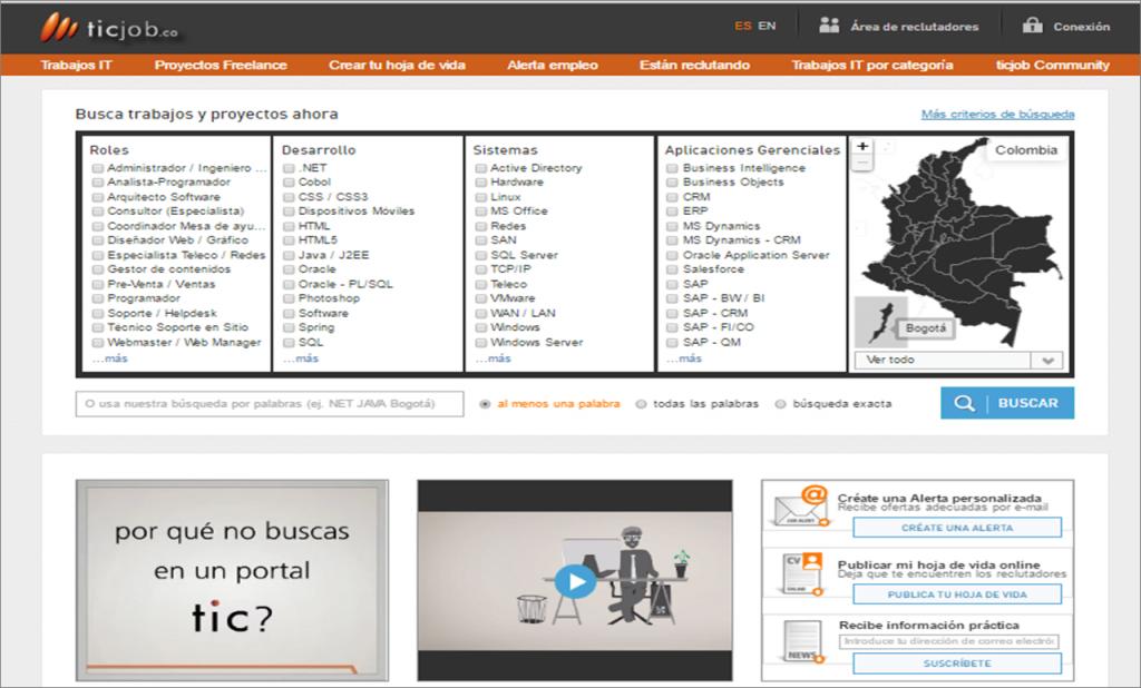 ticjob.co web