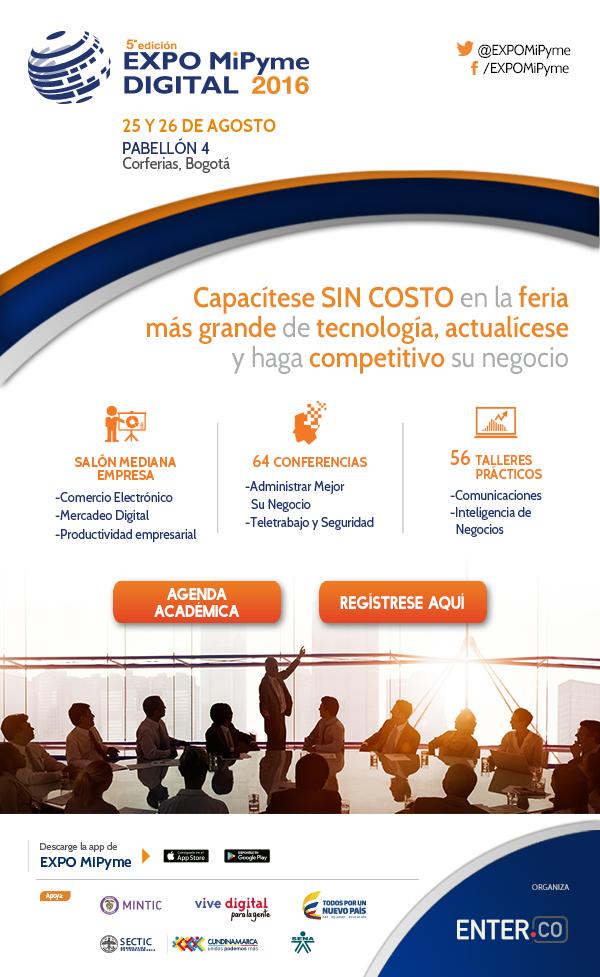 EXPO MiPyme DIGITAL 2016 - 25 Y 26 DE AGOSTO