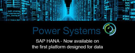 IBM Power Systems SAP HANA