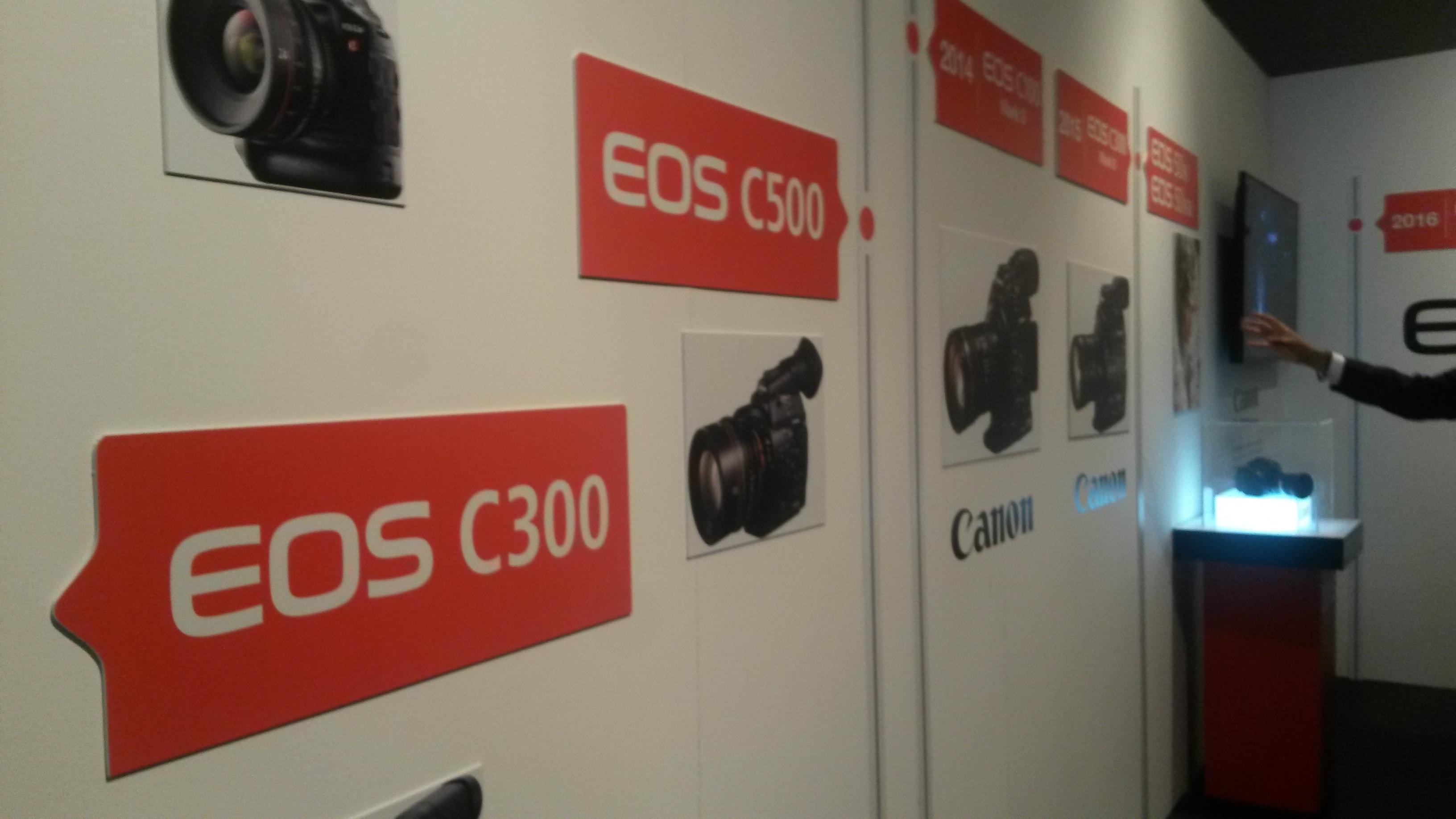 Durante la presentación del EOS 5D Mark IV, se mostró la historia de esta gama de cámaras.