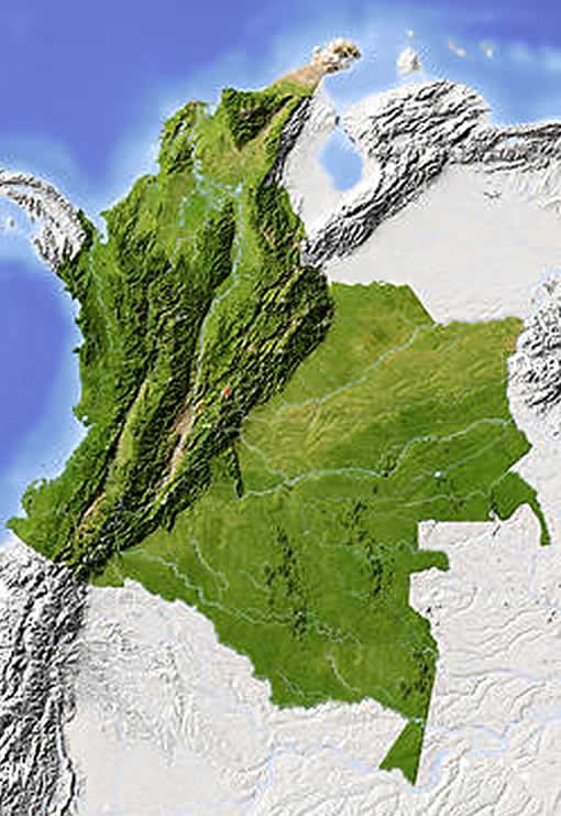 Geografía de Colombia.