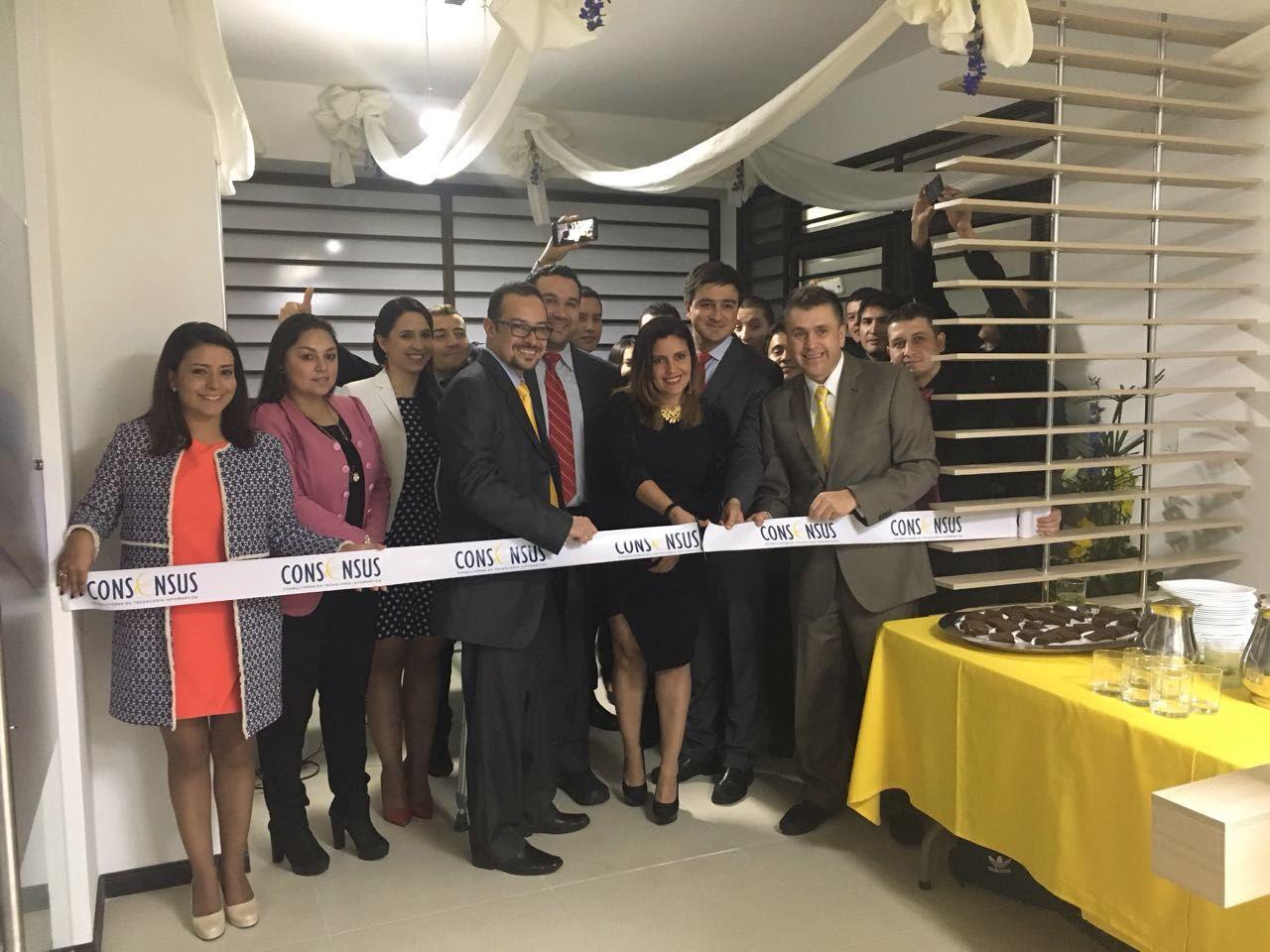 Inauguración de Consensus en el Eje Cafetero