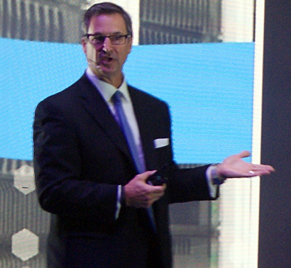 Marius Haas, presidente global de Dell EMC