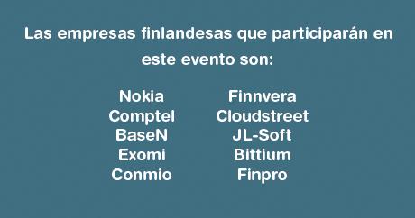 Empresas de Finlandia que han estado conociendo el mercado mexicano durante los últimos días.