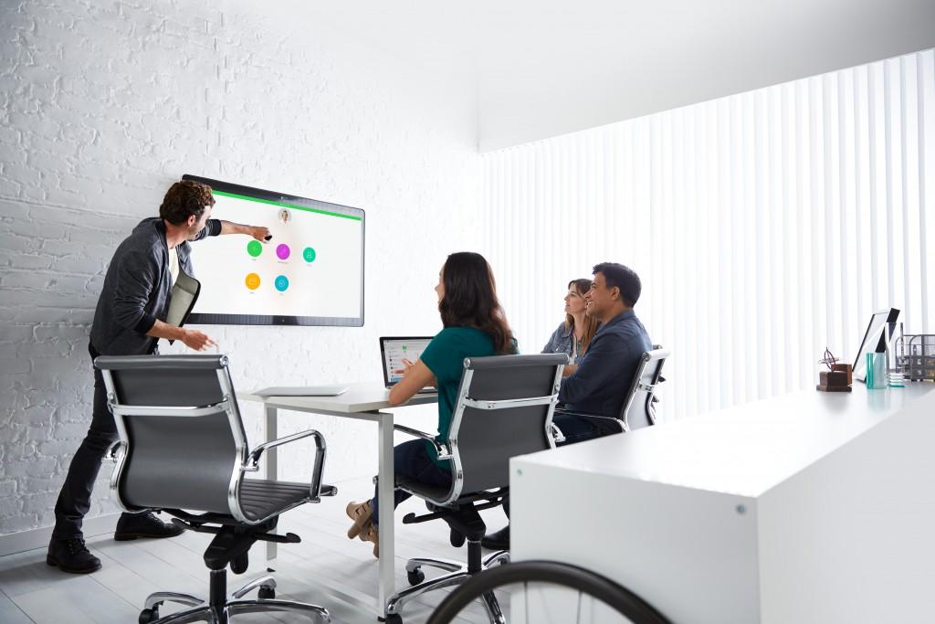 Cisco Spark Board y Cisco Spark Meetings.
