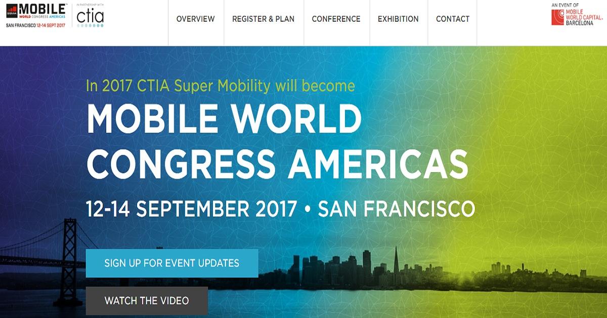 Mobile World Congress Americas 2017