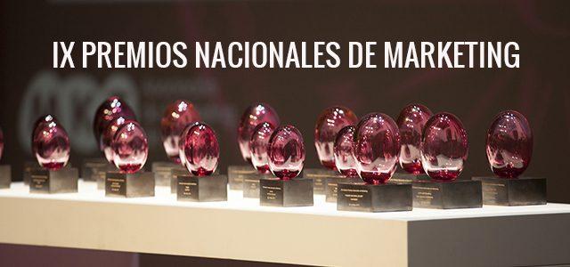 IX Premios Nacionales de Marketing,