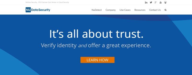 NuData Security mastercard