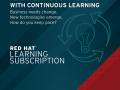 Red Hat Learning Subscription Standard,