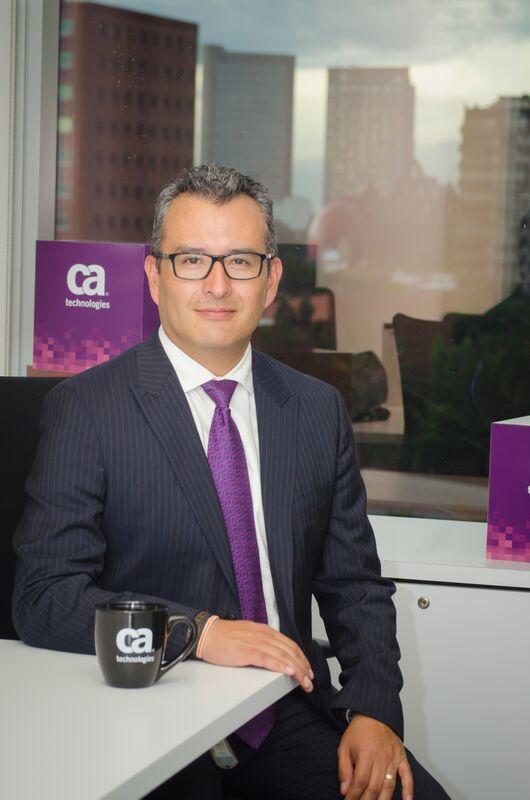 Sergio Mandujano, Director de Preventa y CTO para las soluciones de CA Technologies,