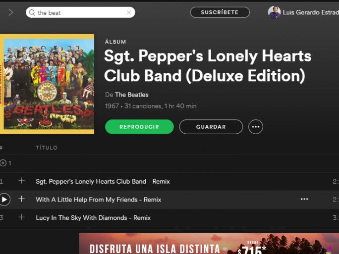 The Beatles Polska: Pieprzne statystyki na Spotify