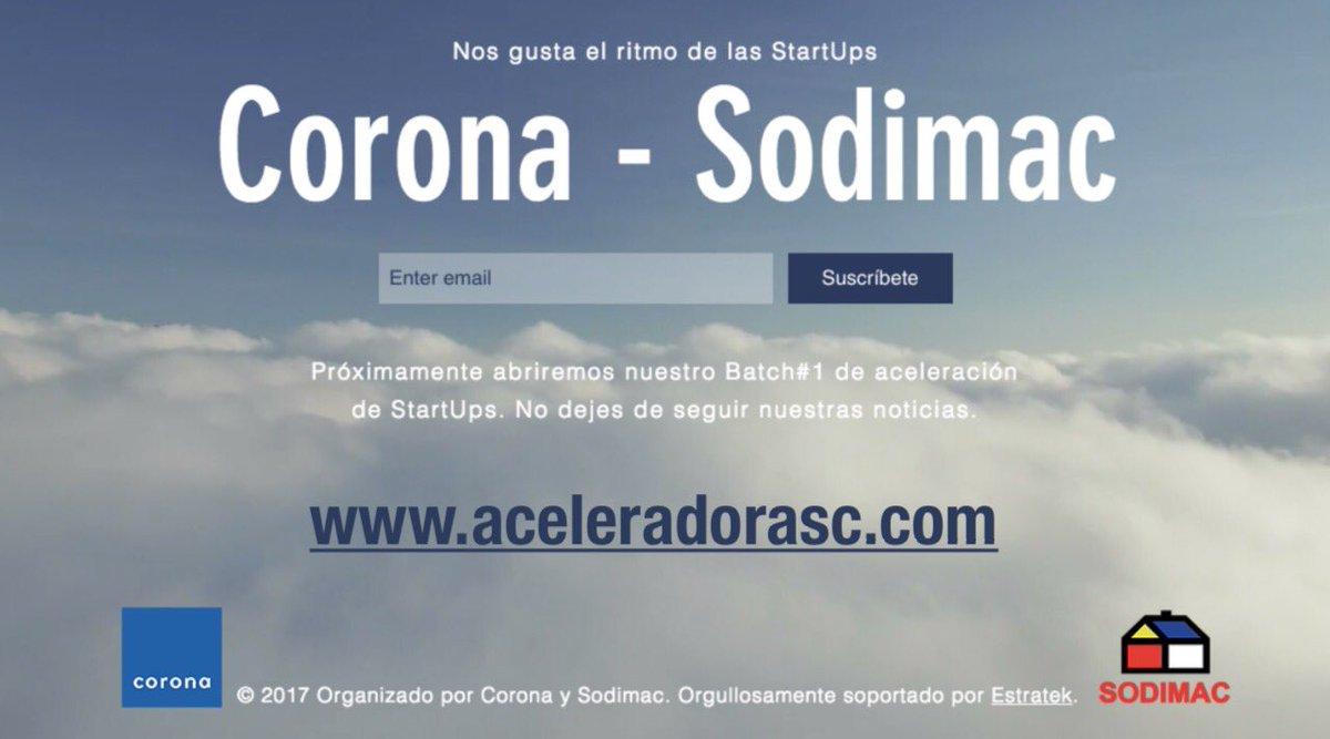 Aceleradora Sodimac Corona
