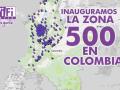 zona wifi gratis colombia 500 Zonas WiFi Gratis