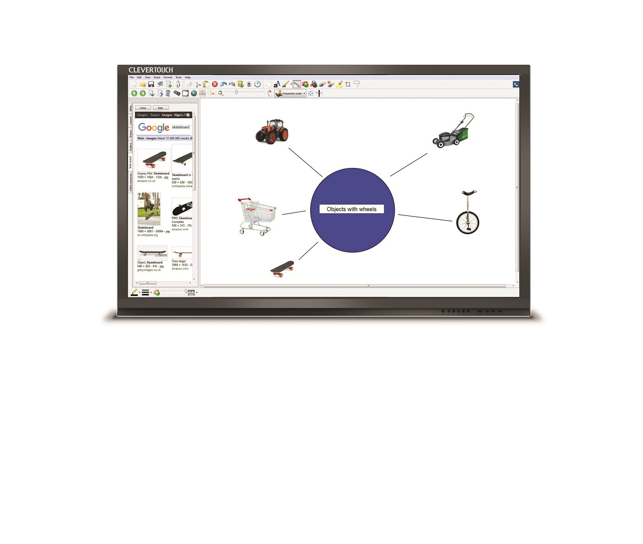 clevertouch Pro Plus front CleverLynx (2) - copia