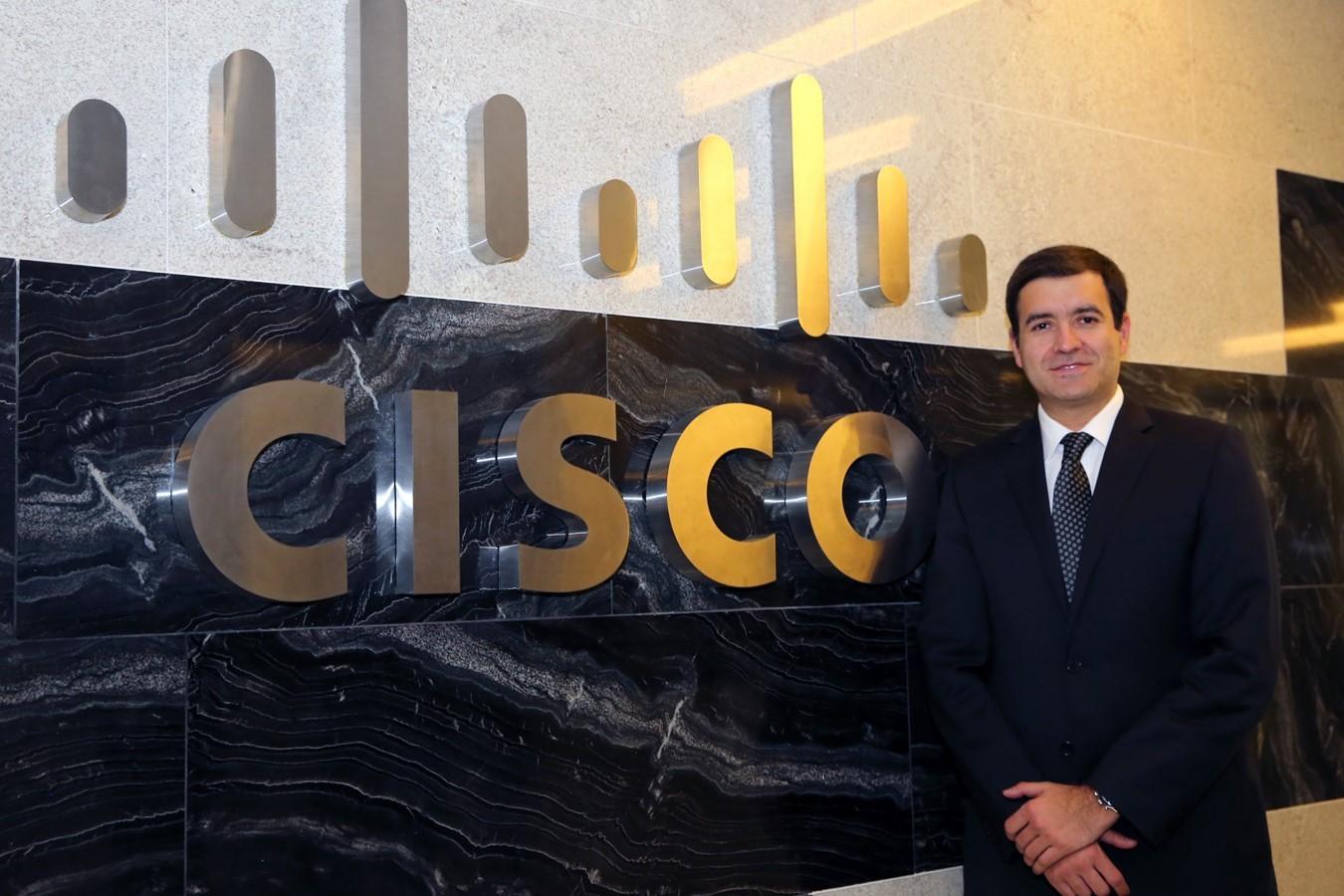 Juan Pablo Rincón, gerente regional de Arquitectura Empresarial de Cisco.
