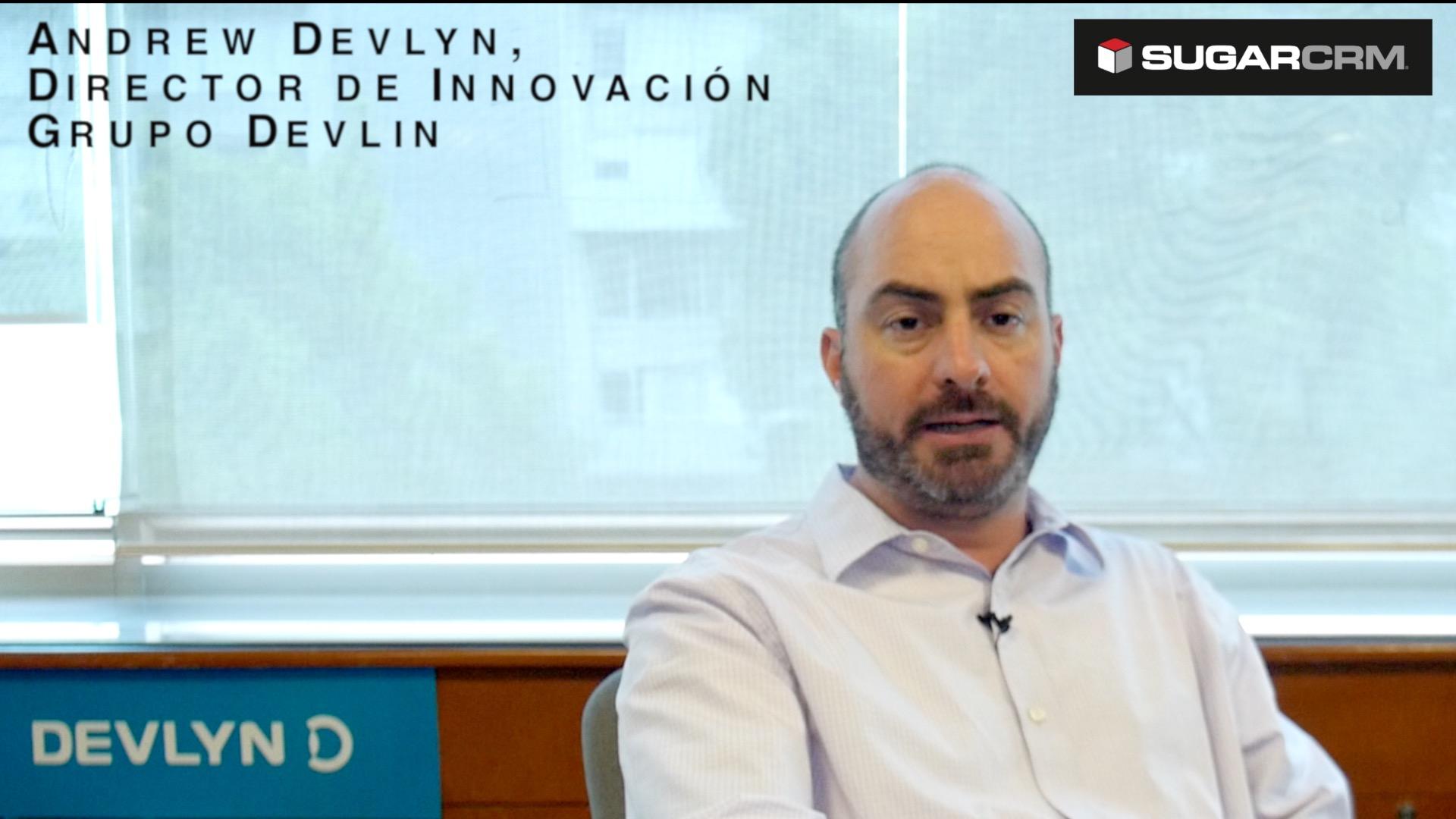 Andrew Devlyn, director de Innovación de Grupo Devlyn