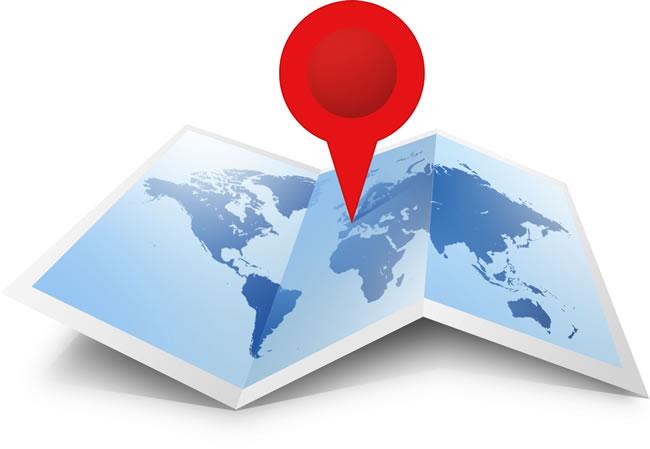 Geolocalizacion 'check in' ubicación