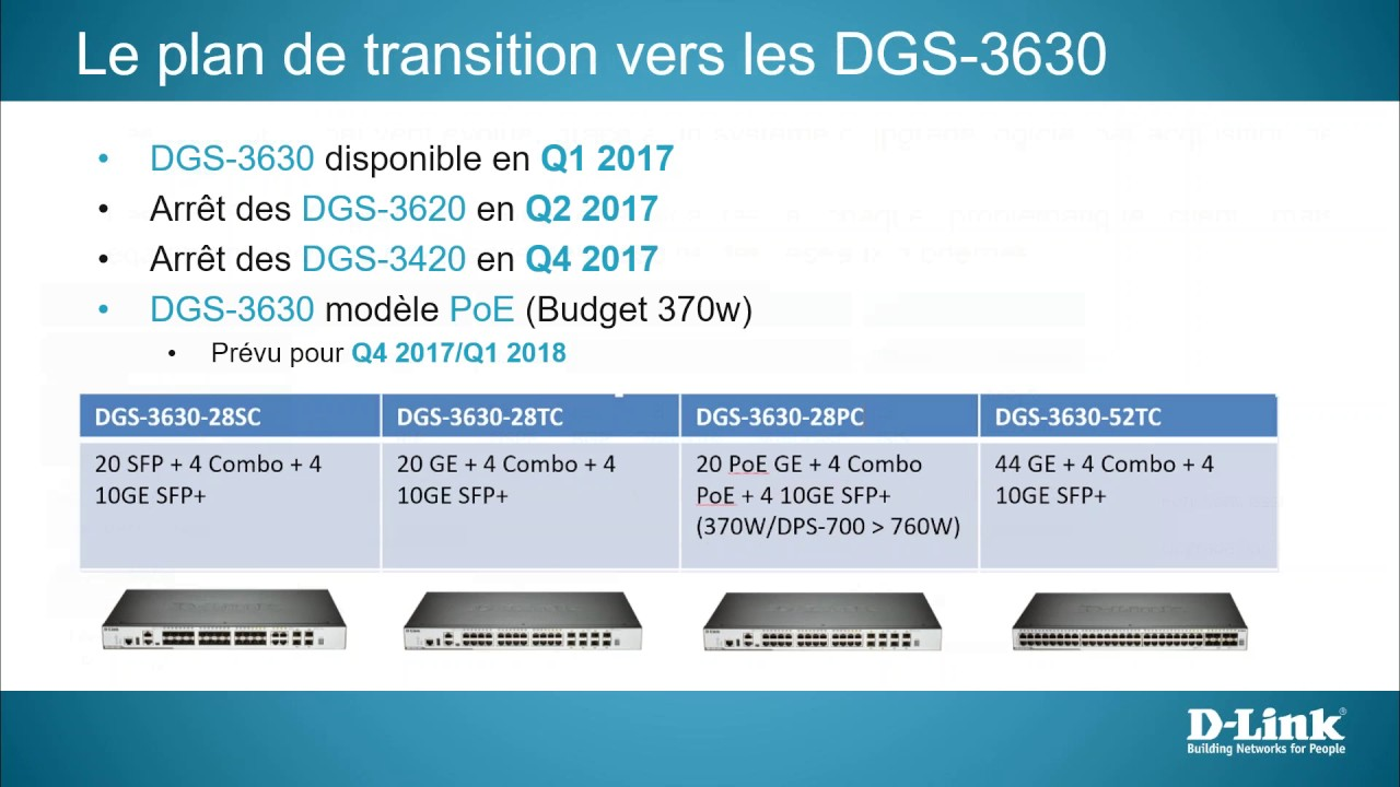 switches  DGS 3630