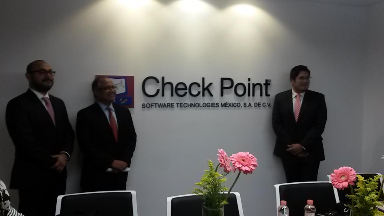 Diversos directivos de Check Point presentaron las nuevas oficinas de Ciudad de México