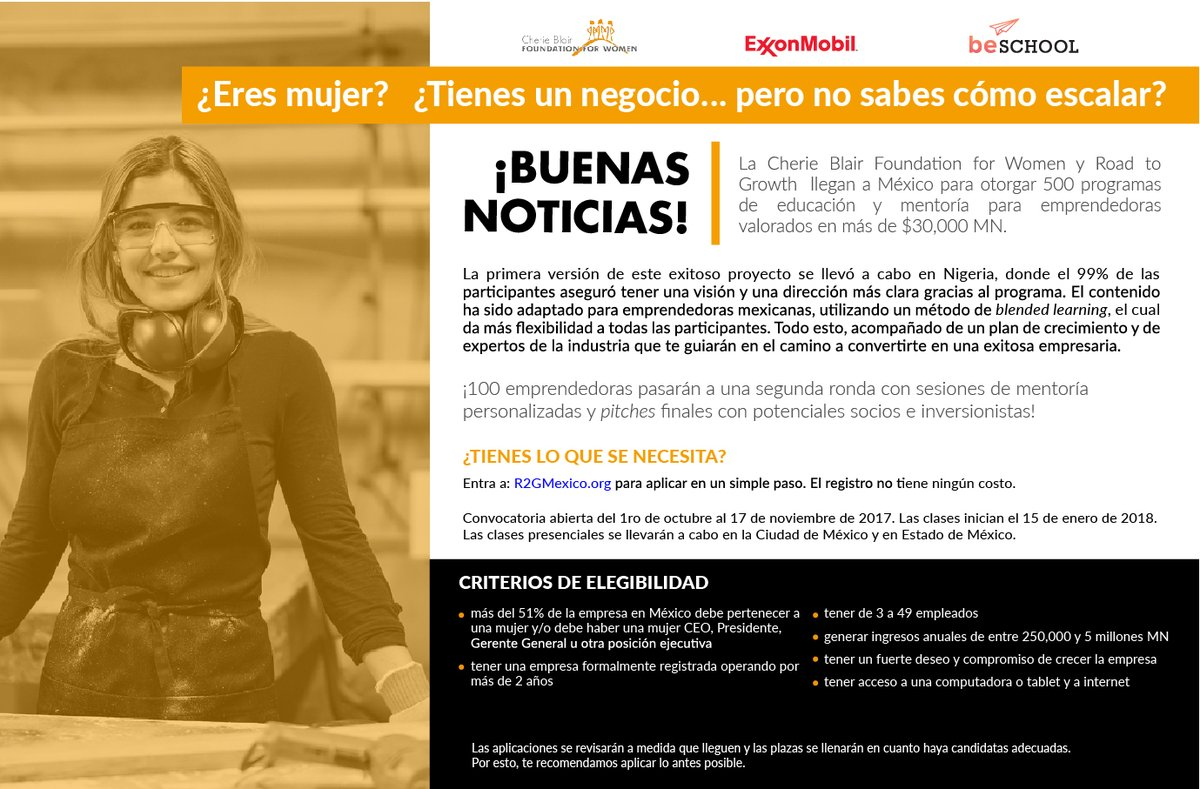 Cherie Blair Foundation for Women mexico