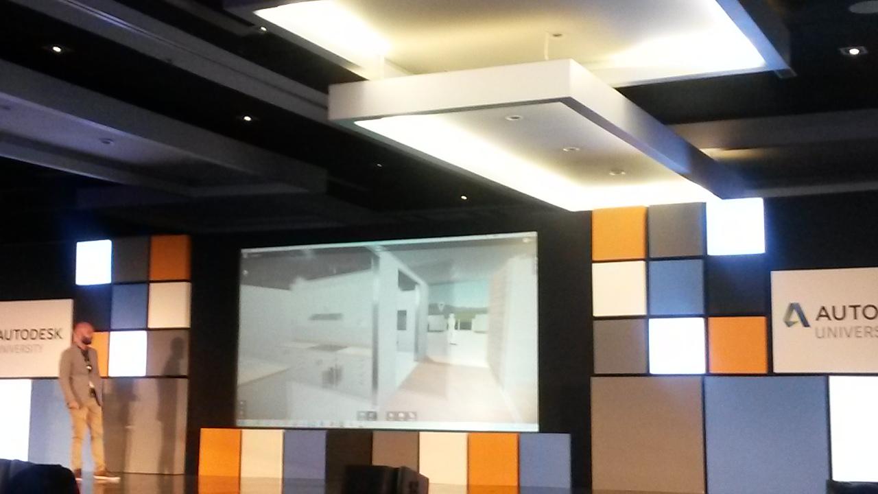 Presentación sobre las capacidades de crear entornos de Realidad Virtual