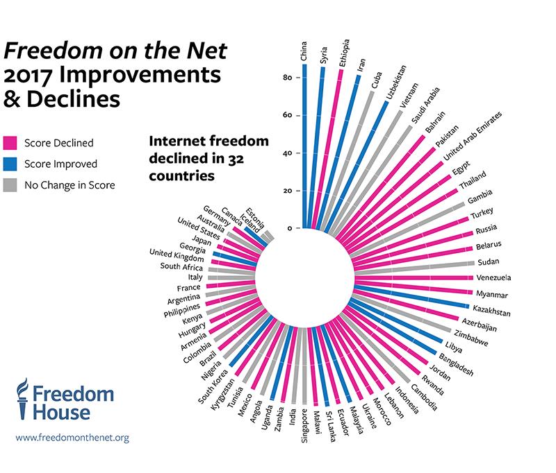 libertad internet