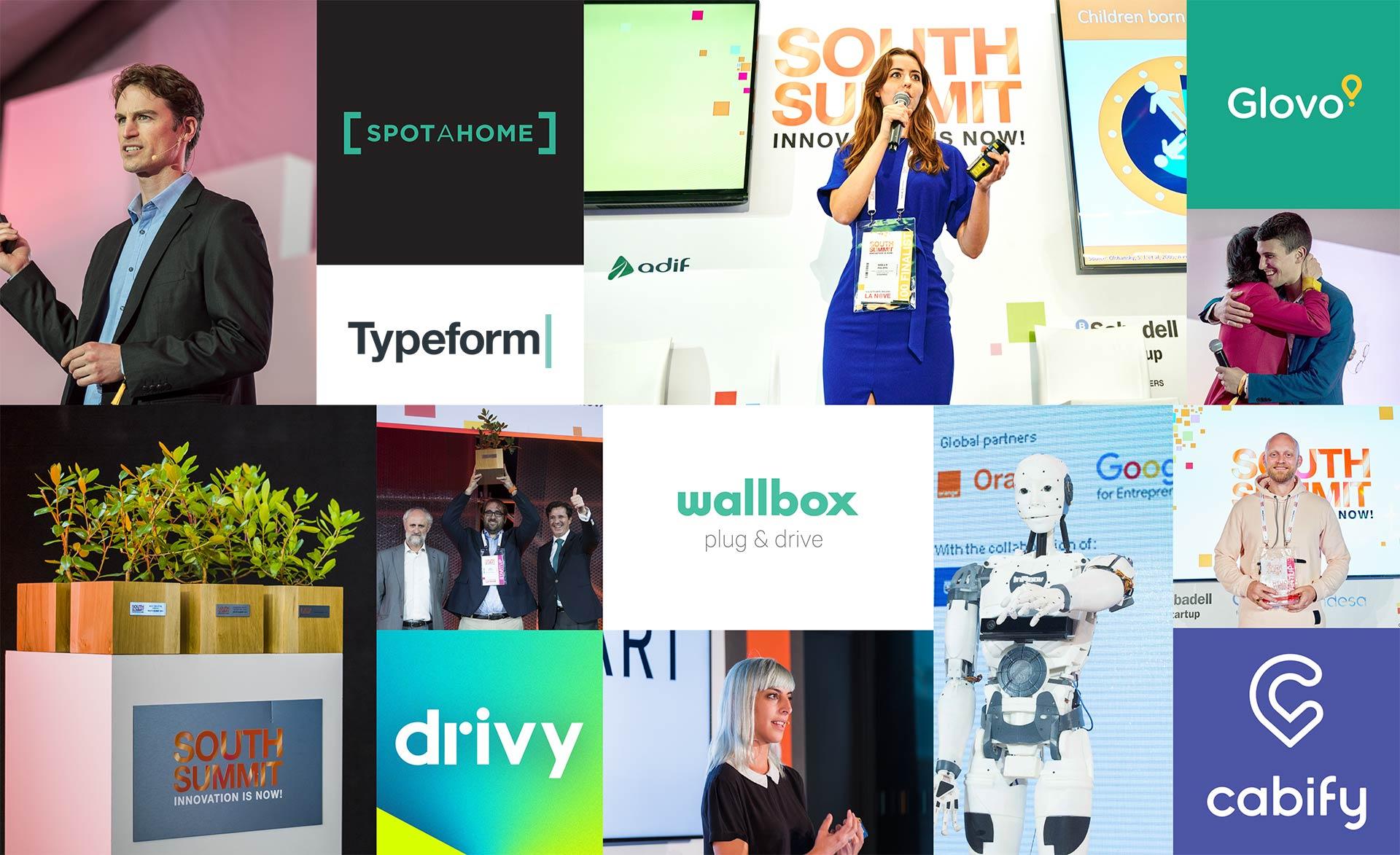 Algunas de las más destacadas startups de la pasada convocatoria del South Summit.