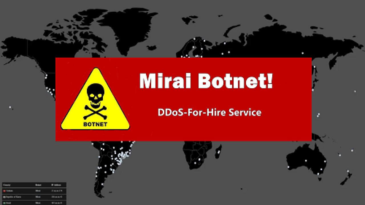 Actualidad Alerta: nueva variante de malware Mirai - siliconweek.com