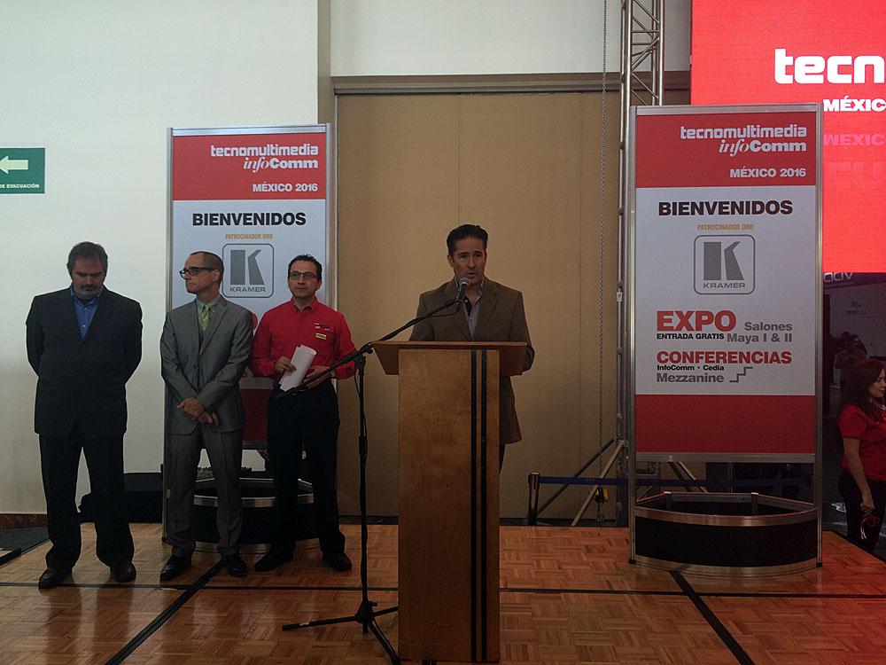 Inauguración de TecnoMultimedia InfoComm México